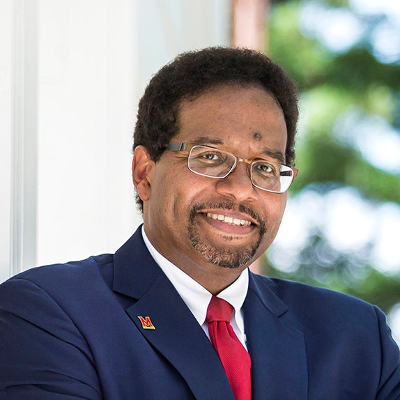 Portrait of Darryll J. Pines, president of the University of Maryland